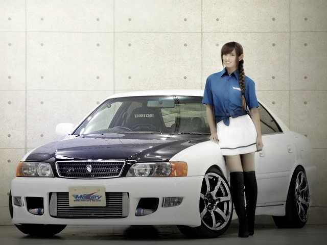 FRONT EXTERIOR FNATZ TUNING JZX100 CHASER