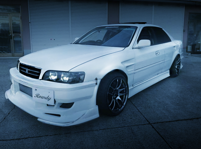 FRONT EXTERIOR JZX100 CHASER WIDEBODY