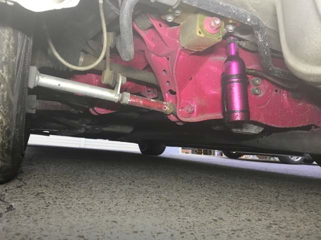 UNDER BODY JZX100 CHASER