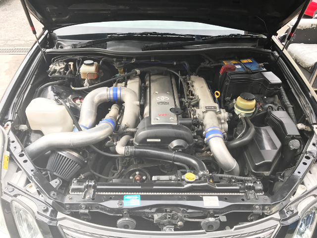 1JZ VVTi TURBO ENGINE