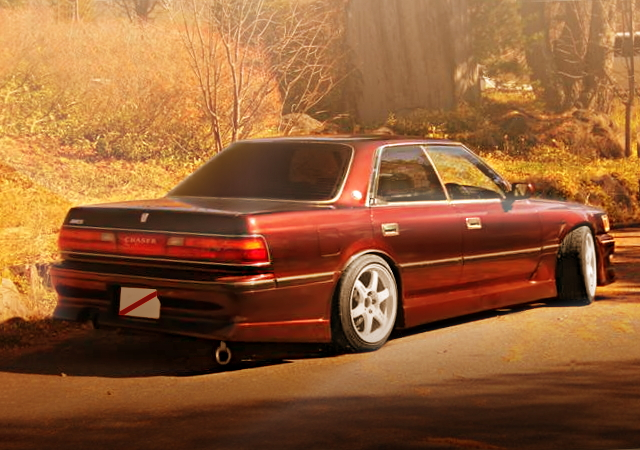 REAR EXTERIOR JZX81 CHASER