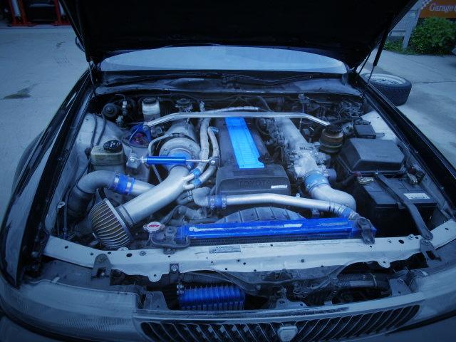 1JZ-GTE ENGINE ON T4 TURBINE