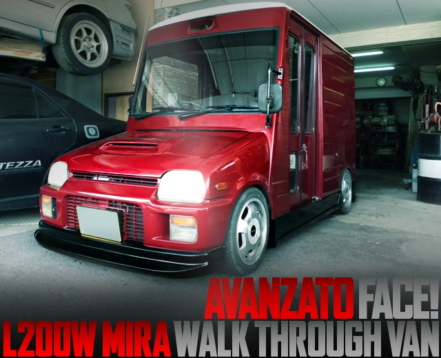 AVANZATO FACE MIRA WALK THROUGH VAN