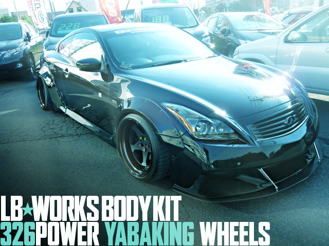 LB-WORKS 326-WHEELS V36 SKYLINE 370GT TYPE-SP