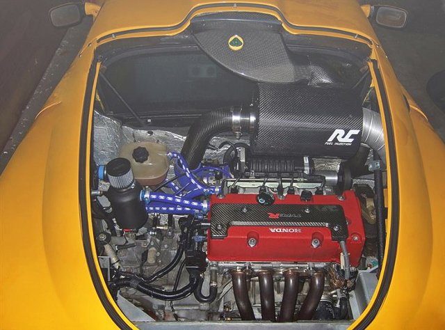 K20A i-VTEC ENGINE SUPERCHARGED