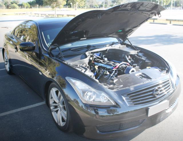 V8 ENGINE ROOM FOR V36 SKYLINE COUPE 370GT