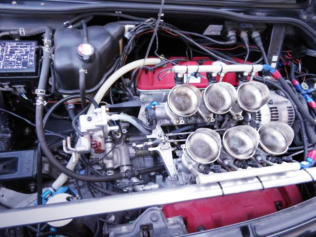C35B 3500cc VTEC ENGINE With ITBS