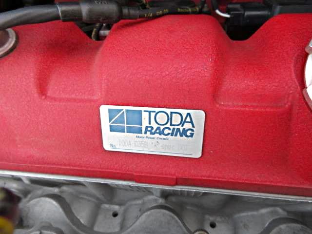 TODA-RACING PLATE