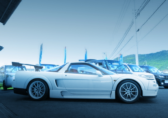 SIDE EXTERIOR NA1 NSX TYPE-R