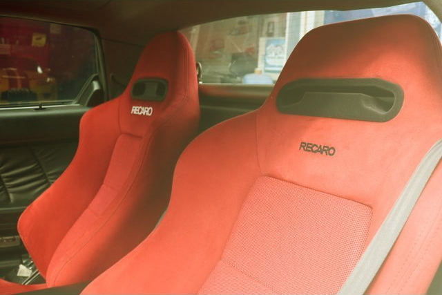 RECARO RED SEAT