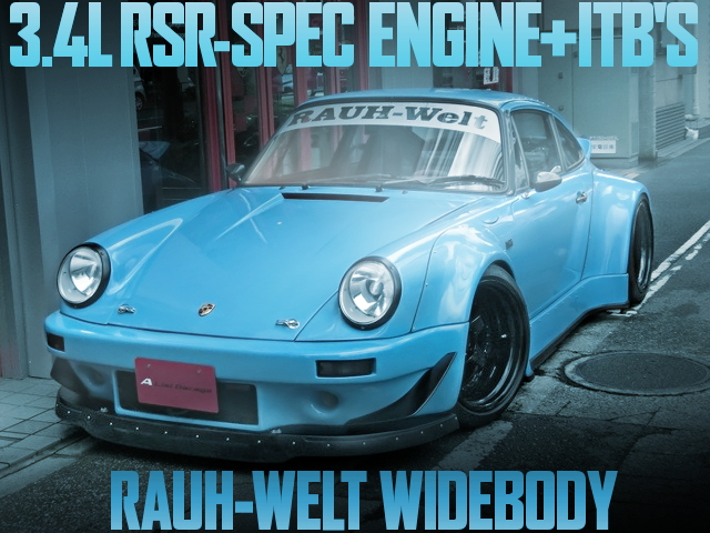 RAUH WELT WIDEBODY 930 PORSCHE 911
