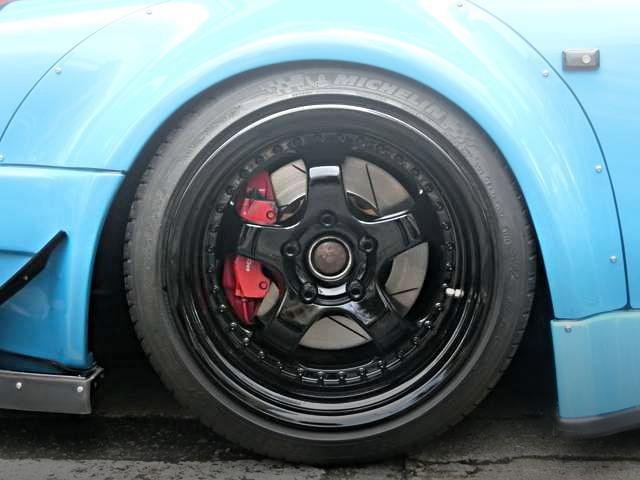 FRONT PORSCHE 911 RWB FENDER ARCH