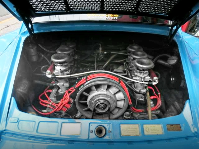 PORSCHE 911 RWB FLAT-SIX ENGINE