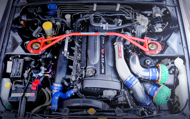 RB26 2700cc HKS GT-SS TWIN TURBO ENGINE