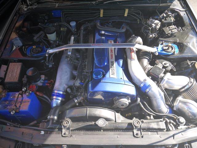 RB26DETT ENGINE BLUE