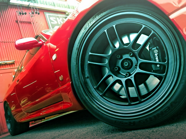 ENKEI WHEEL AND BREMBO CALIPER