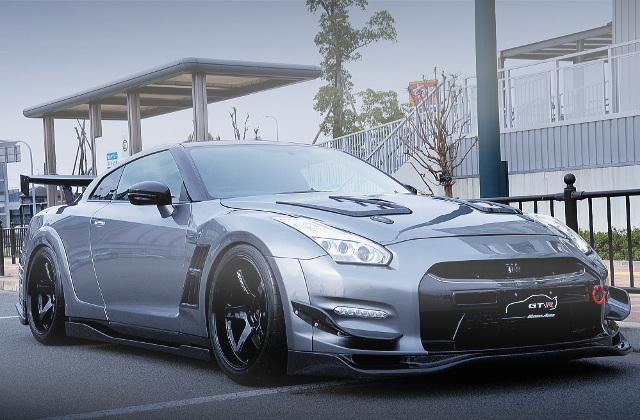 FRONT EXTERIOR R35 GT-R TOP-SECRET WIDEBODY