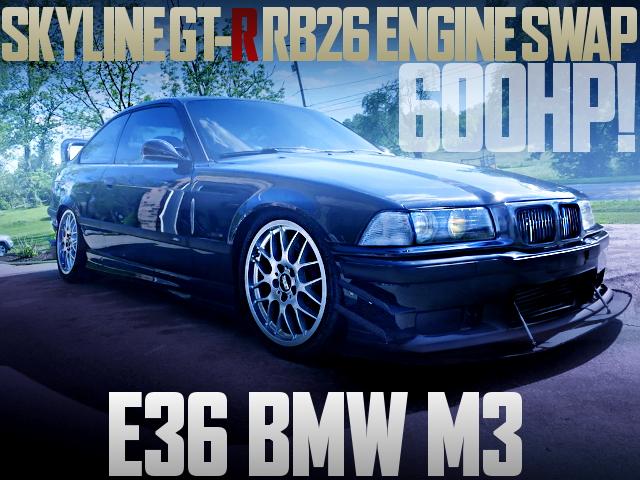 RB26 SWAP E36 BMW M3