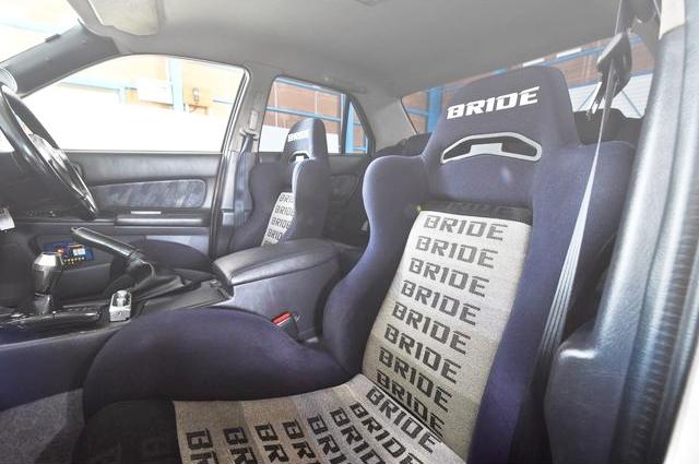 INTERIOR FRONT BRIDE SEAT