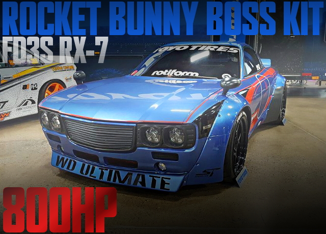 ROCKET BUNNY BOSS KIT RX7 800HP