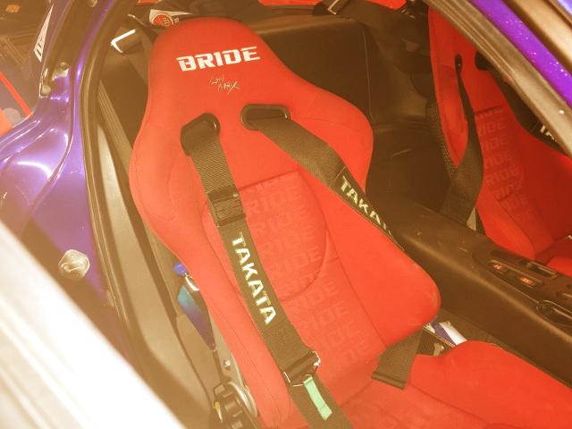 BRIDE SEAT TAKATA BELT FD3S RX-7