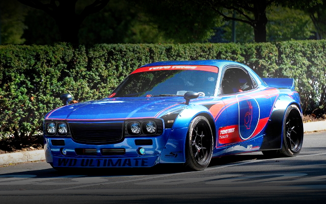 FRONT EXTERIOR FD3S RX-7 ROCKET BUNNY BOSS KIT WIDEBODY