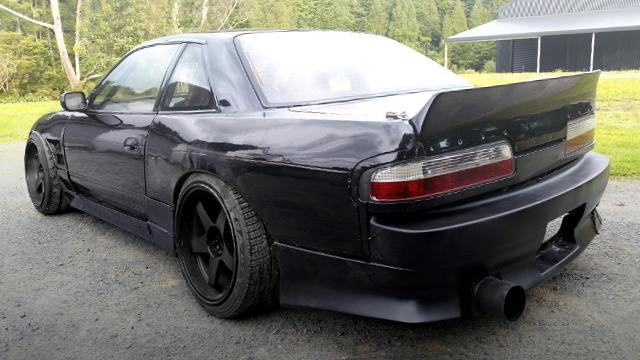 REAR EXTERIOR S13 SILVIA BLACK