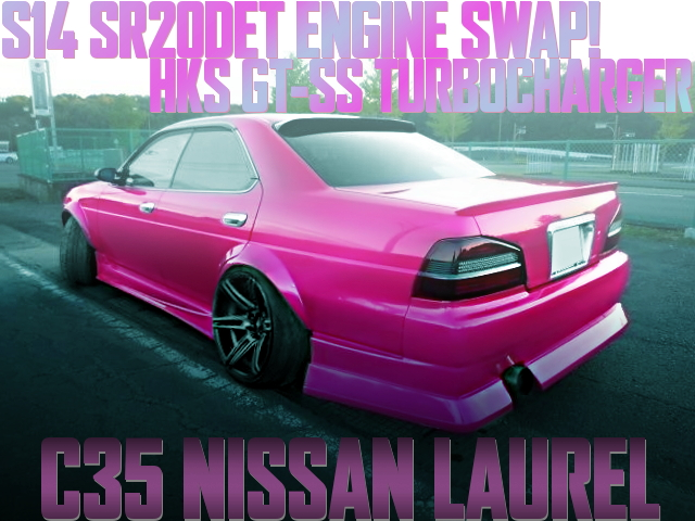 S14 SR20DET SWAP C35 LAUREL