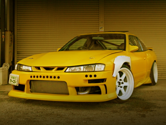 FRONT EXTERIOR SILEIGHTY 180SX