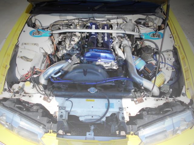SR20DET TURBO ENGINE