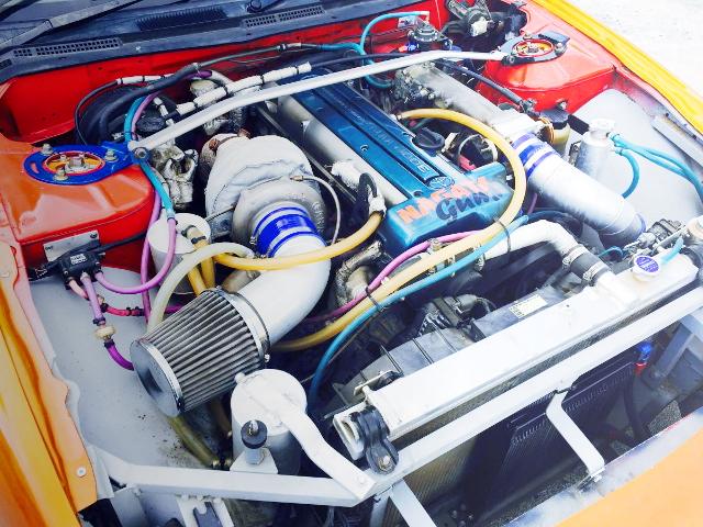 2JZ-GTE 3000cc ENGINE SWAP