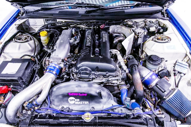 SR20DET TURBO ENGINE S15 SPEC-R