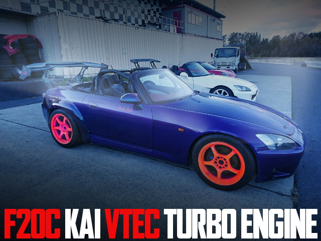 F20C VTEC TURBO AP1 S2000