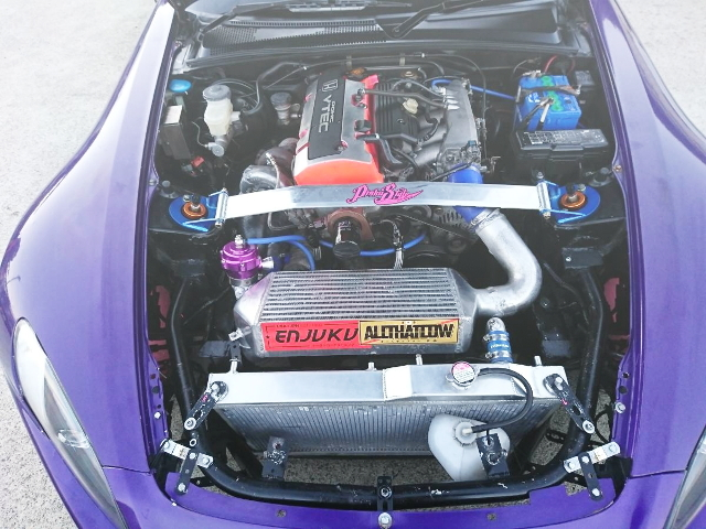 F20C VTEC ENGINE TURBOCHARGED