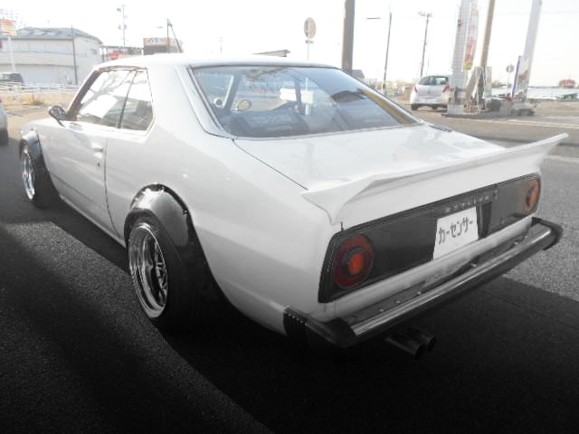REAR EXTERIOR SKYLINE JAPAN 2-DOOR