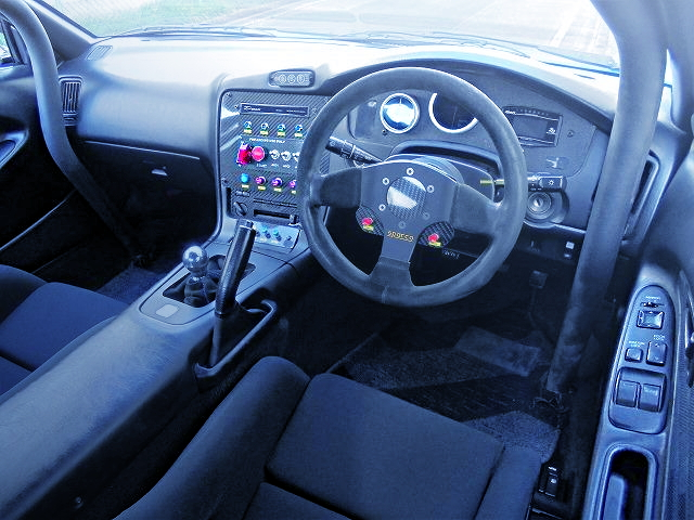 INTERIOR CUSTOM DASHBOARD FROM SW20 MR2