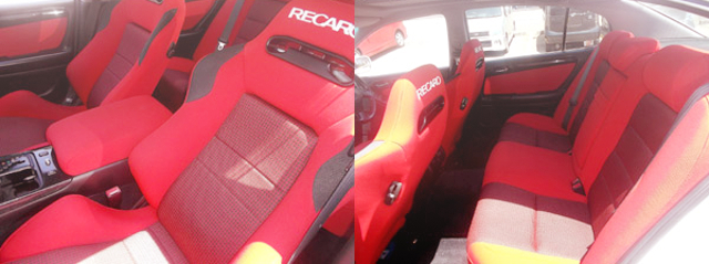 RECARO SEATS INTERIOR
