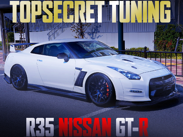 TOP-SECRET TUNING R35 NISSAN GT-R