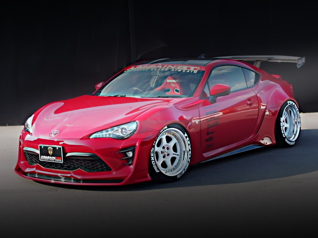 FRONT EXTERIOR TOYOTA 86 GT