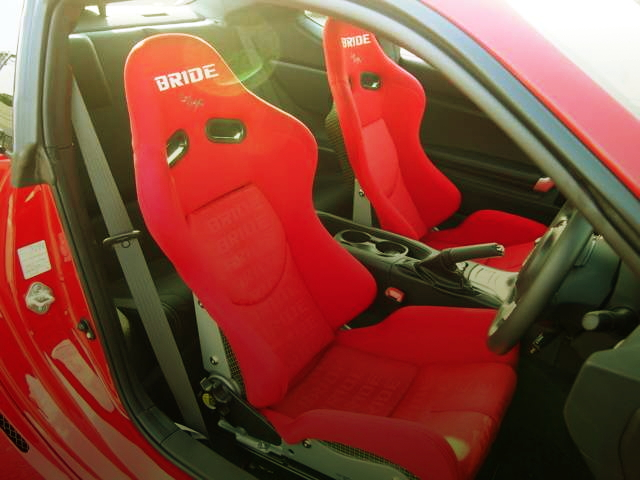INTERIOR BRIDE SEAT RED