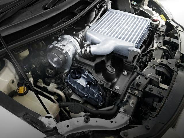 2GR-FE ENGINE HKS SUPERCHARGER