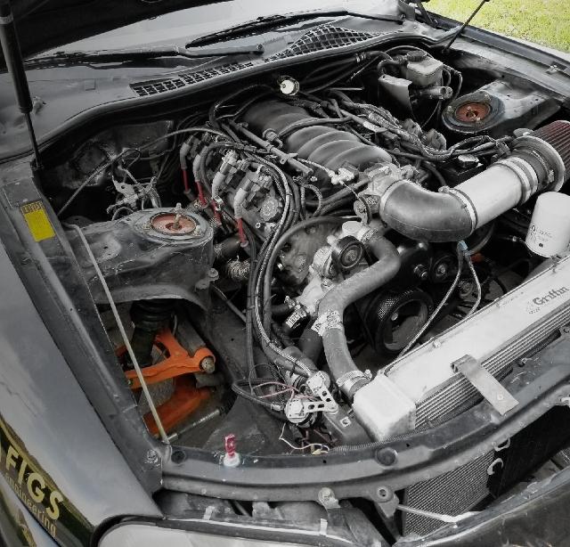 LS 5700cc SHORT BLOCK