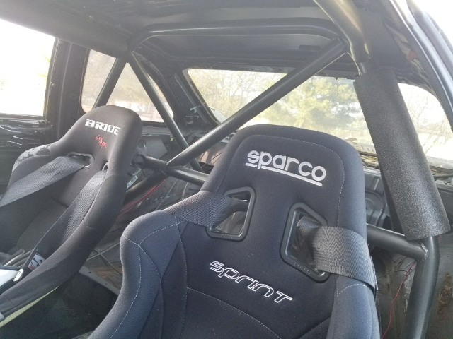 SPARCO AND BRIDE SEAT