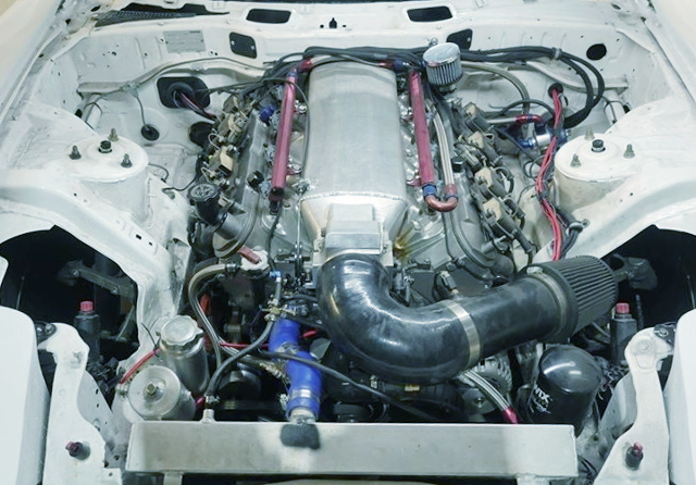 DRY SUMP LS1 V8 ENGINE