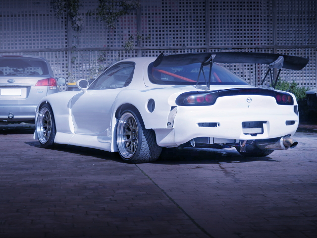REAR EXTERIOR BN-SPORTS WIDEBODY FD3S RX-7