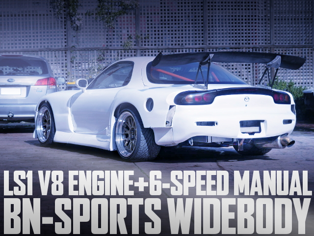 LS1 DRY SUMP V8 ENGINE FD3S RX-7