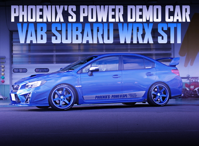 PHOENIXS POWER DEMO CAR VAB SUBARU WRX STI