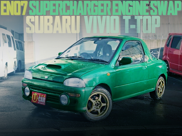 EN07 SUPERCHARGER SWAP VIVIO T-TOP