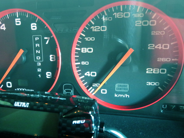 300km SPEED METER FOR NA1 NSX