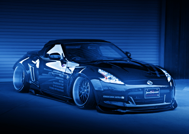 FRONT EXTERIOR Z34 FAIRLADY-Z GUNs STYLE STANCE GENERATION